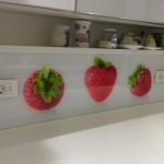 Staklene obloge kuhinja - dekorativno staklo